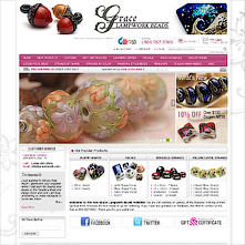 Magento Store Gracebeads.com - High Quality Handmade Glass Beads