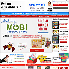 Bridgeshop.com.au - The Bridge Shop - the famous Bridge Store at Sydney, Australia.