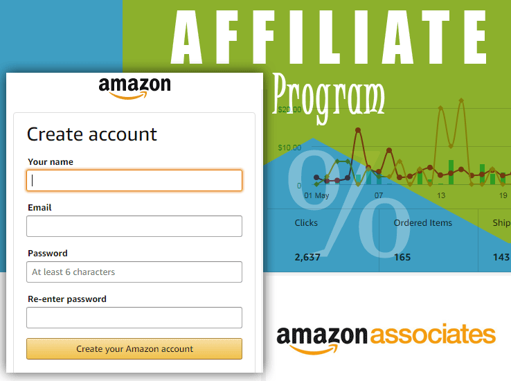 Amazon Affiliate Program - Create Account in Amazon