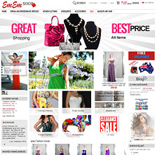 Magento Store Ememshop - bridal, bridesmaids and formal dresses