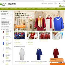 Magento Store Ivyrobes.com offers you choir robes, clergy robes, pulpit robes