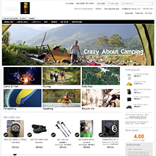 Magento Store - Đồ phượt, do du lịch, lều trại, túi ngủ dã ngoại