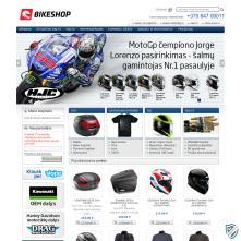 Magento Store - Moto dalys ir aksesuarai - Pristatymas visoje Lietuvoje