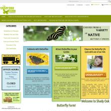 Magento Store - Butterfliesetc.com - Purchase butterflies for special events, classroom projects, gifts, and more!