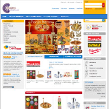 Magento Store - Pooja Items, Incense Sticks, Rose Water,Dhoop Flora Batti