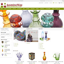 Magento Store JasmineWay.co.uk - Designer home accessories
