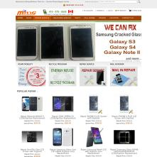 Magento Store Mingwireless.com - Canada Cellular Retail & Service Company and electronic gadgets wholesaler