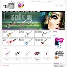 Magento Store - Vendita online forbici professioniali, pinzette