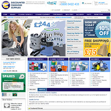 Cleaning products, cleaning equipment, janitorial supplies  | DiscountedCleaningSupplies.co.uk