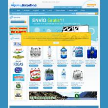 Magento Store based on BlueScale Magento Template - Aiguadebarcelona.com