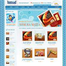 Magento Store based on BlueScale Magento Template - Bassad.com