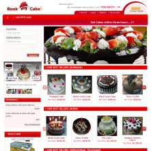Magento Store based on BlueScale Magento Template - Bookmycake.com