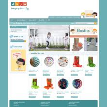 Magento Store based on BlueScale Magento Template - Daju.com.au