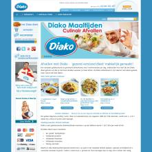 Magento Store based on BlueScale Magento Template - Dieetmaaltijd.com