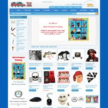 Magento Store based on BlueScale Magento Template - DillonImporting.com