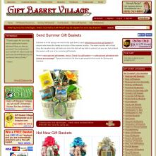 Magento Store based on BlueScale Magento Template - Giftbasketvillage.com