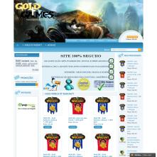 Magento Store based on BlueScale Magento Template - Gold4games.com.br