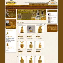 Magento Store based on BlueScale Magento Template - GoldVials.com