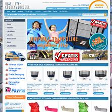 Magento Store based on BlueScale Magento Template - Huistuinkeukenvoordeel.nl