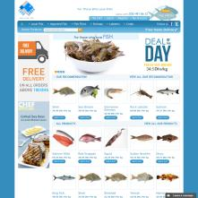 Magento Store based on BlueScale Magento Template - Souqsamak.com