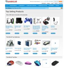 Magento Store based on BlueScale2013 Magento Template - Amarisit.co.uk