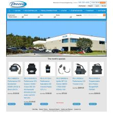 Magento Store based on BlueScale2013 Magento Template - Procomeng.com
