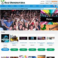 RaizUniversitaria.com - Raiz Universitária - Festas e Eventos