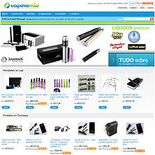Magento Store based on BlueScale2013 Magento Template - VaporeMio.com