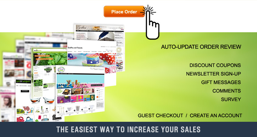 OnePage Checkout Magento Extension