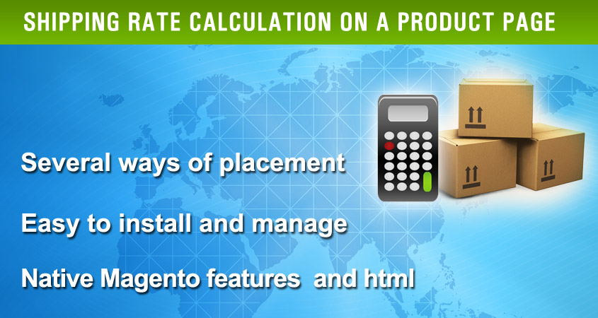 Shipping Price Calculator Magento Extension