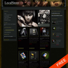 Glam Free Magento Template