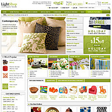 LightShop Green Magento Template (archive)