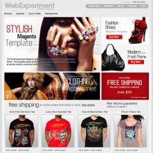 WebExperiment Magento Template