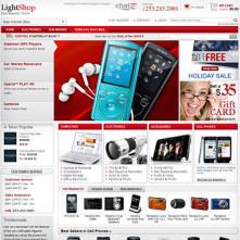 LightShop Red Magento Template