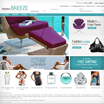 PerfectBreeze Magento Template