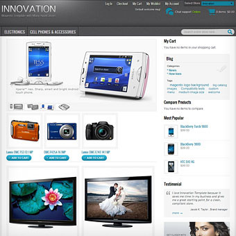 Innovation Magento Template
