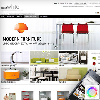 Perfect White Magento Template