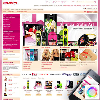 SexToys Magento Template