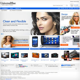 UniversalBlue Magento Template