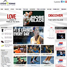 Magento Store StevegTennis.com: Tennis Racquet Reviews | Best Tennis Shoes | Tennis Apparel, Balls & Strings