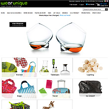 Live Store with OnePage Magento Checkout extension - WeArUnique.com