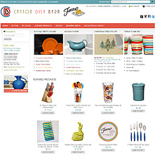 Magento Store CantonDishBarn.com - Serving up the entire line of Fiesta dishes