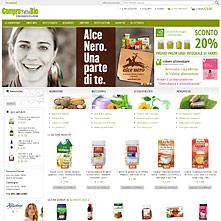 Comprotuttobio.com - ComproTuttoBio - prodotti da agricoltura biologica delle migliori italiane ed europee marche