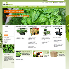 Live Store with OnePage Magento Checkout extension - SimpleGarden