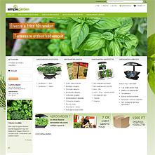 SimpleGarden.eu - Termesszen otthonában friss zöldségeket és fűszernövényeket