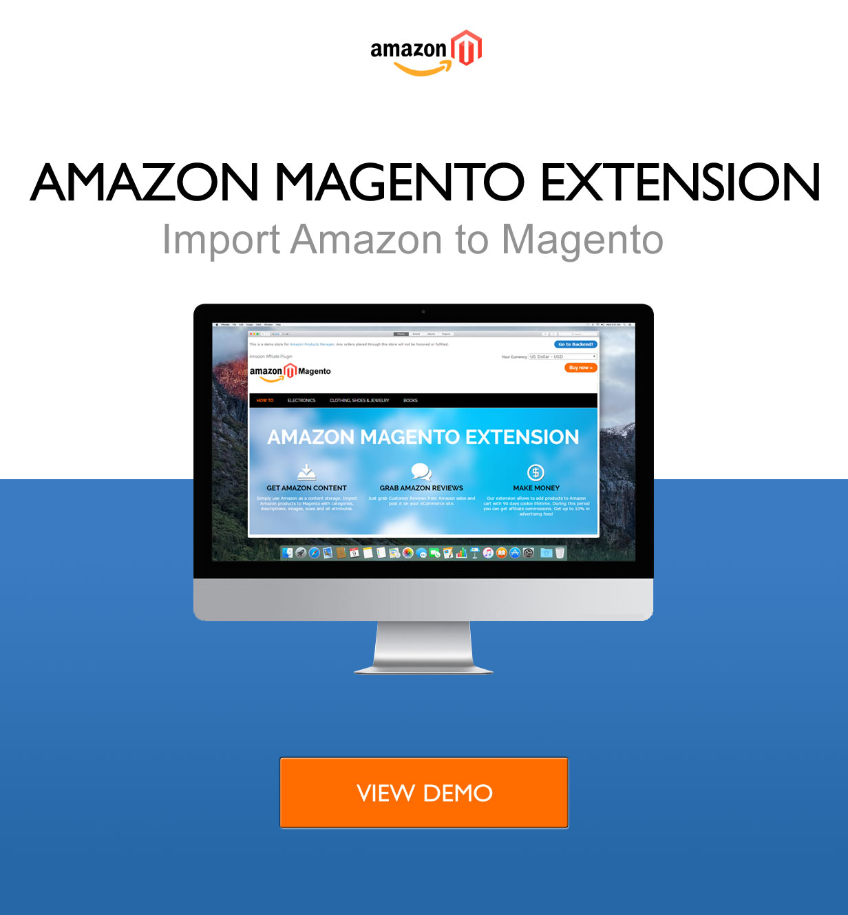 Amazon Magento Extension LIVE DEMO