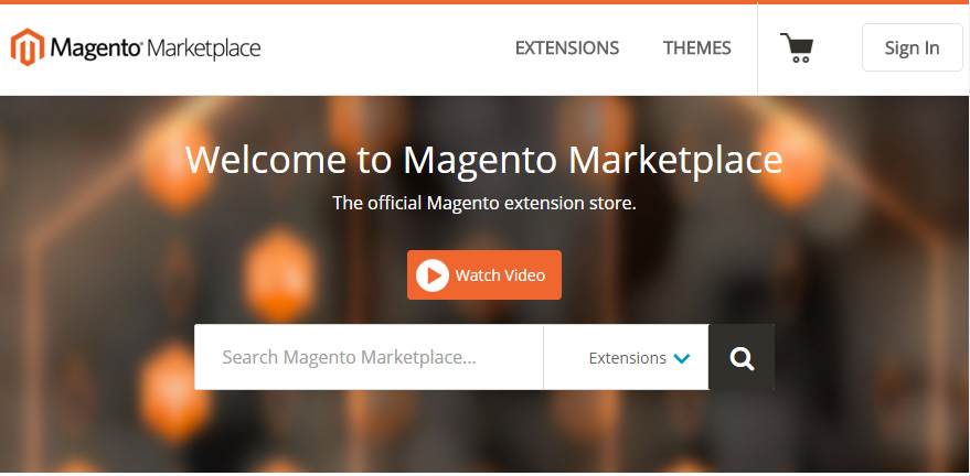 The launch of Magento Marketplace