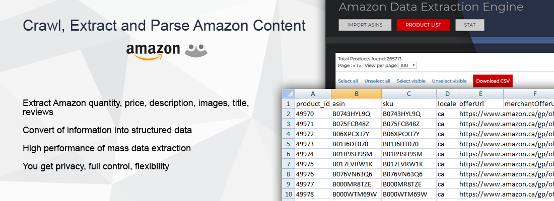 Expert System - Amazon Data Extraction