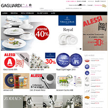 Live Store with OnePage Magento Checkout extension -  GAGLIARDI Pescara