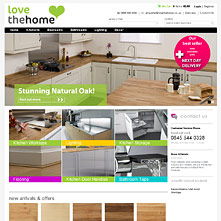 Magento Store LoveTheHome.co.uk